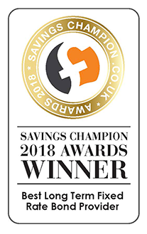 Savings Champion 2017 Awards Winner - Best Long Term Fixed Rate Bond Provider